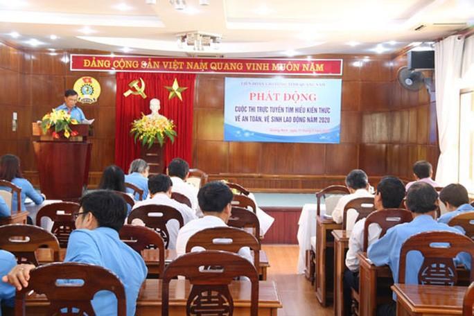 Quảng Nam: Thi tìm hiểu an toàn, vệ sinh lao động Ảnh 1