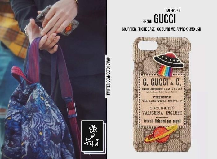 Soi loạt ốp lưng đắt giá bậc nhất của các thành viên BTS: Supreme, Gucci, LV đều có đủ! Ảnh 11