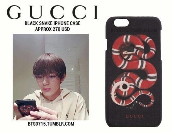 Soi loạt ốp lưng đắt giá bậc nhất của các thành viên BTS: Supreme, Gucci, LV đều có đủ! Ảnh 10