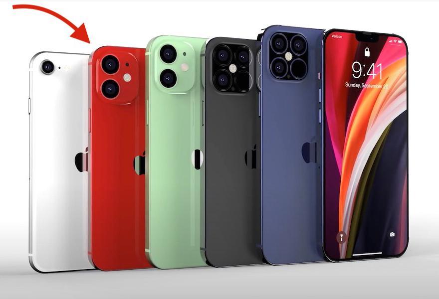 iPhone 12 có phiên bản nhỏ hơn iPhone SE 2020? Ảnh 1