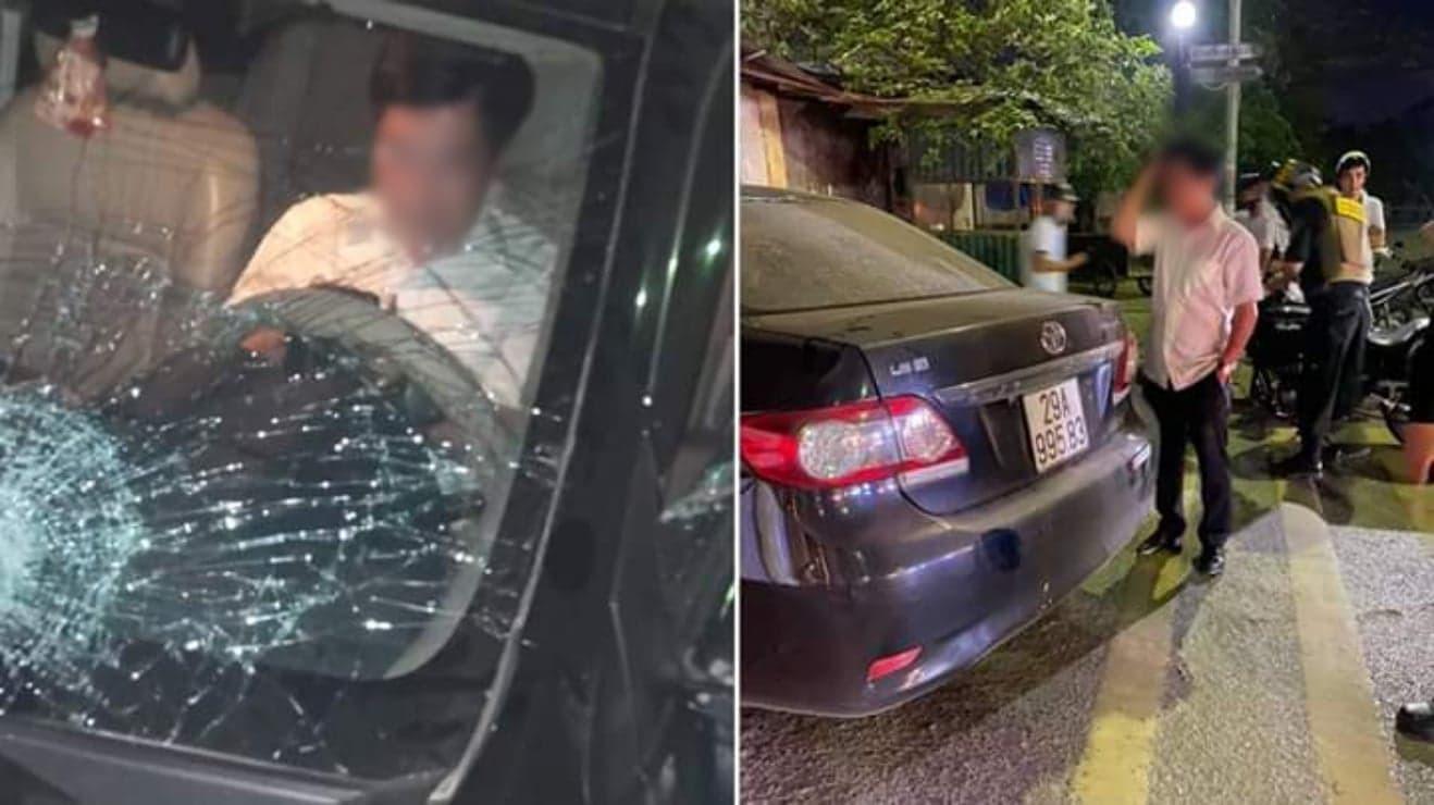 Vợ của Trưởng ban Nội chính Thái Bình lái xe gây tai nạn phân trần 'chồng mắt kém'