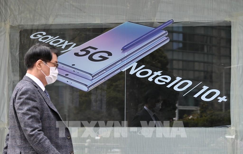 Samsung Electronics thống lĩnh thị phần điện thoại 5G tại Mỹ Ảnh 1