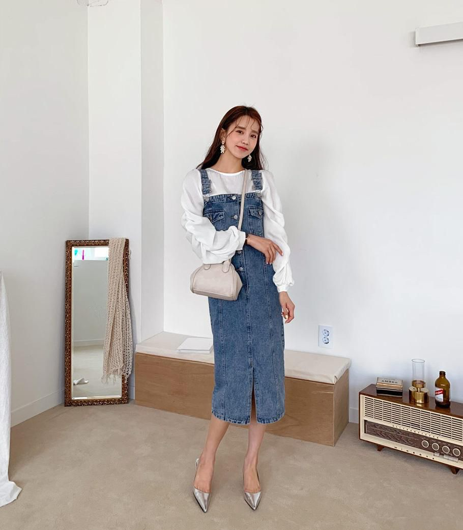 Minh Hằng và Lan Ngọc đều hack tuổi thần sầu nhờ váy denim, muốn mặc đẹp như họ nhưng không 'cưa sừng làm nghé' thì bạn hãy nhớ vài tips Ảnh 6