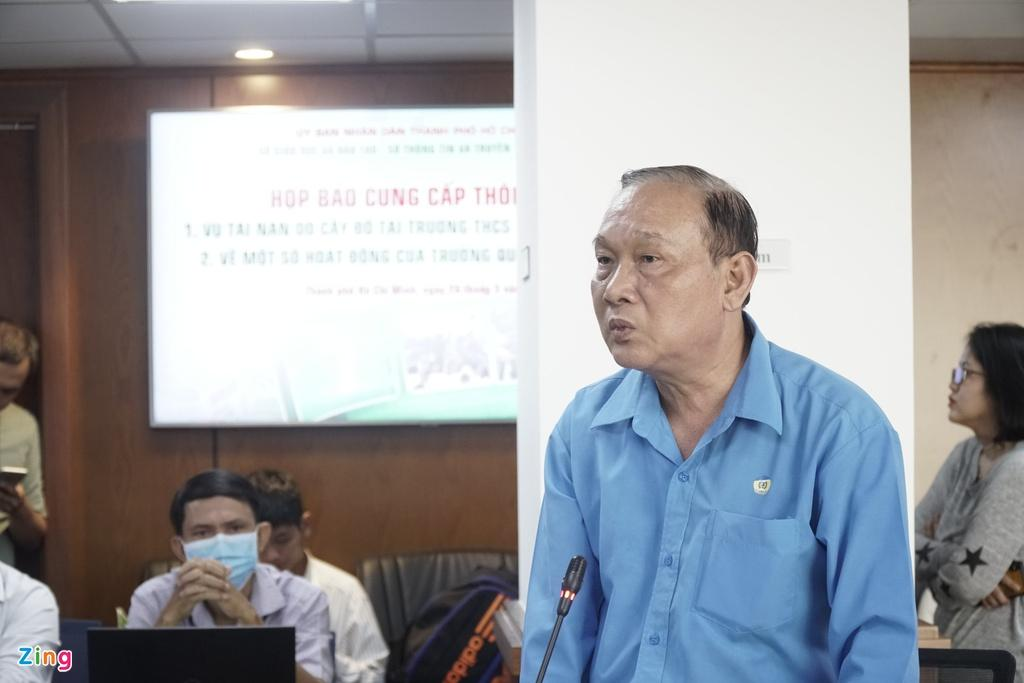 Hiệu trưởng trường THCS Bạch Đằng: Tôi nhận trách nhiệm để làm gương Ảnh 2