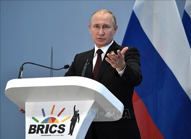 Tổng thống V. Putin kêu gọi người dân Nga tích cực tham gia bỏ phiếu về sửa đổi Hiến pháp Ảnh 1