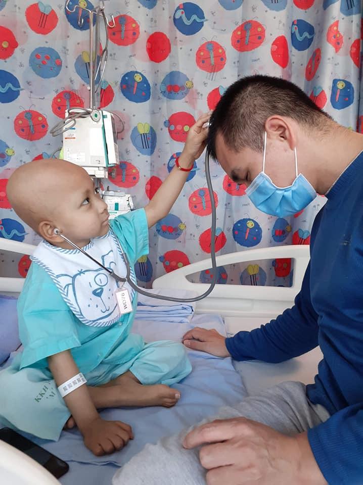 Xúc động trước tâm thư của bố gửi con trai đang mắc bệnh hiểm nghèo ngày Tết thiếu nhi Ảnh 3