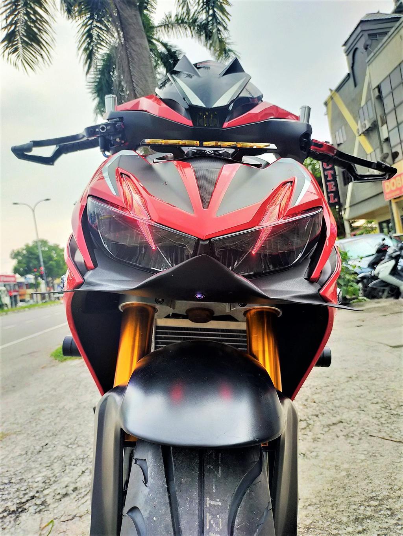 Honda Winner X phong cách phân khối lớn của xưởng độ Malaysia Ảnh 2