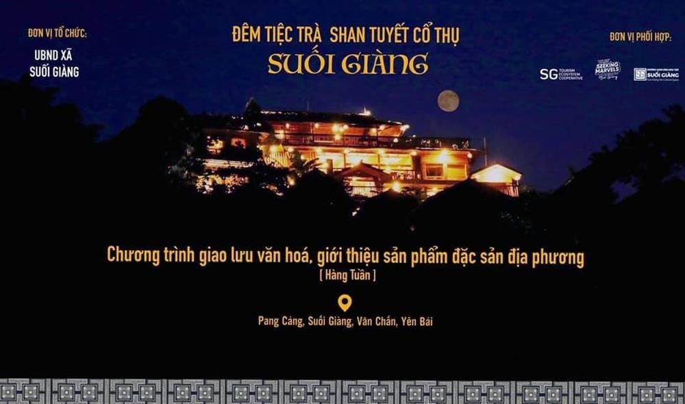 Đêm tiệc trà Shan Tuyết cổ thụ Suối Giàng Ảnh 1