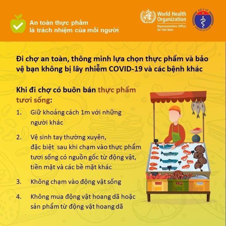 Các quy tắc bảo đảm an toàn thực phẩm nhân Ngày An toàn thực phẩm thế giới (7-6) Ảnh 2