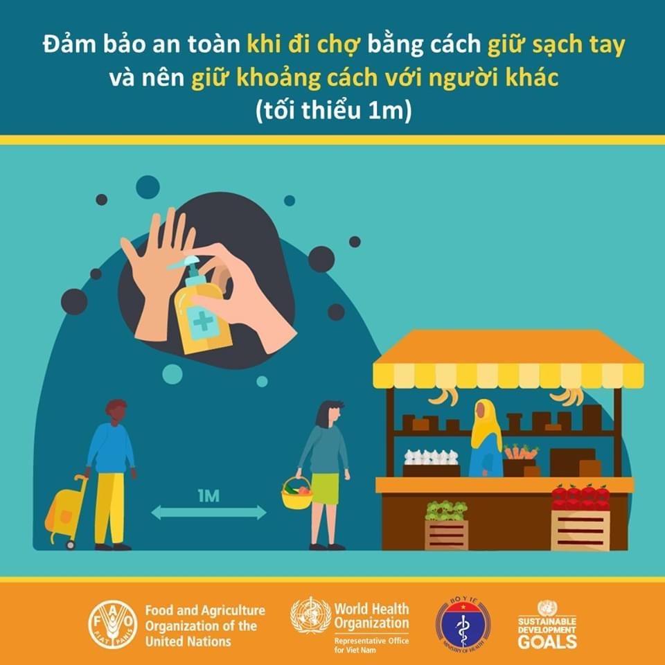 Các quy tắc bảo đảm an toàn thực phẩm nhân Ngày An toàn thực phẩm thế giới (7-6) Ảnh 6