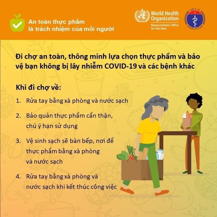 Các quy tắc bảo đảm an toàn thực phẩm nhân Ngày An toàn thực phẩm thế giới (7-6) Ảnh 3