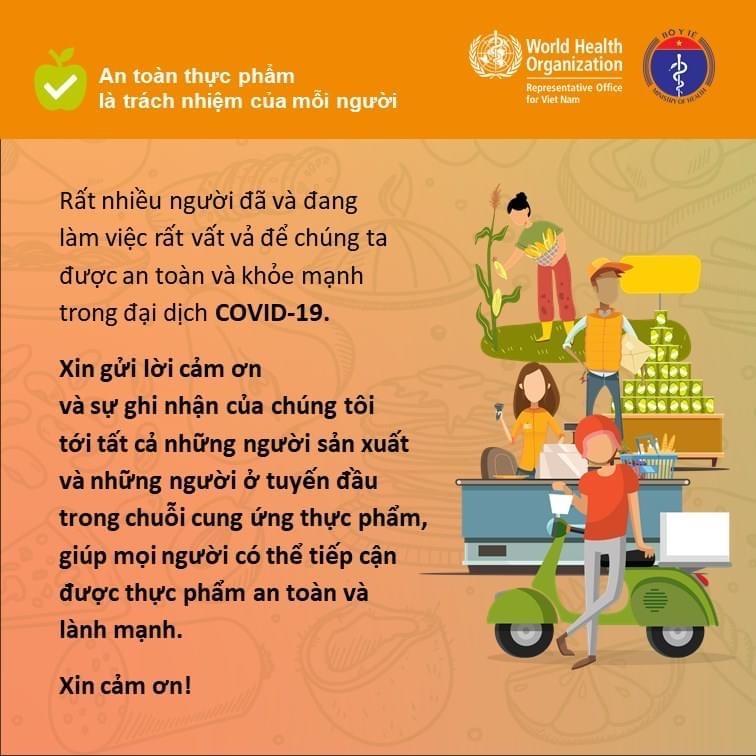 Các quy tắc bảo đảm an toàn thực phẩm nhân Ngày An toàn thực phẩm thế giới (7-6) Ảnh 4