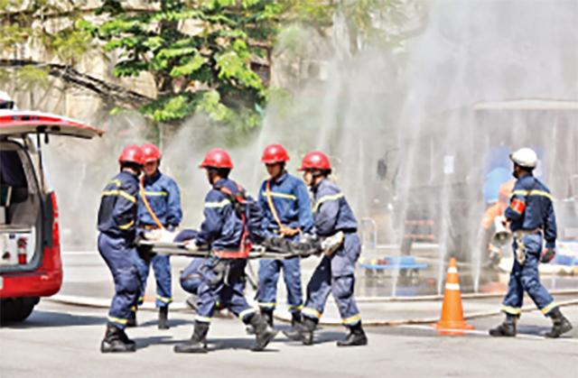 Ðào tạo nguồn nhân lực phòng cháy, chữa cháy Ảnh 1