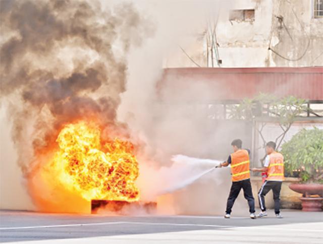 Ðào tạo nguồn nhân lực phòng cháy, chữa cháy Ảnh 2