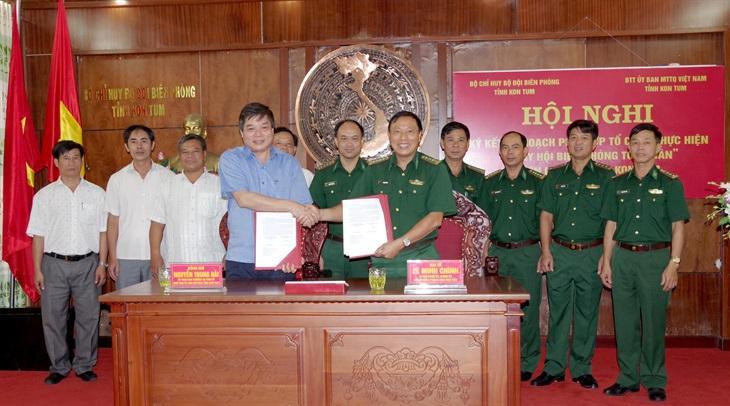 Phối hợp tổ chức 'Ngày hội Biên phòng toàn dân' tại Kon Tum Ảnh 1