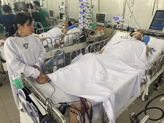 Chồng vừa rời quê đi làm mướn thì gặp cơn bạo bệnh, vợ nghèo 5 con nước mắt ngắn dài bất lực Ảnh 9