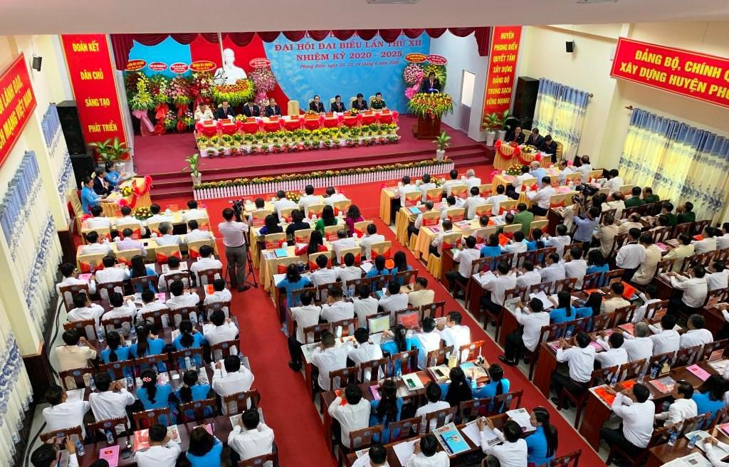 Phong Điền tổ chức đại hội điểm cấp huyện đầu tiên ở Cần Thơ Ảnh 1