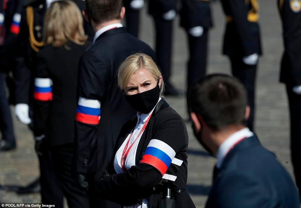 Vẻ đẹp các nữ quân nhân Nga trong lễ duyệt binh trên Quảng trường Đỏ Ảnh 12