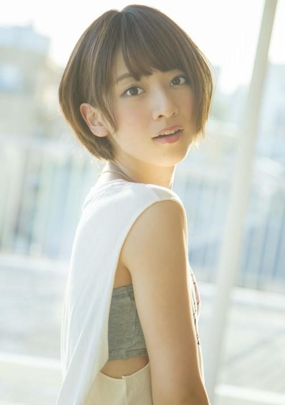 Nanami Hashimoto là nữ thần được yêu thích tại Nhật Bản.