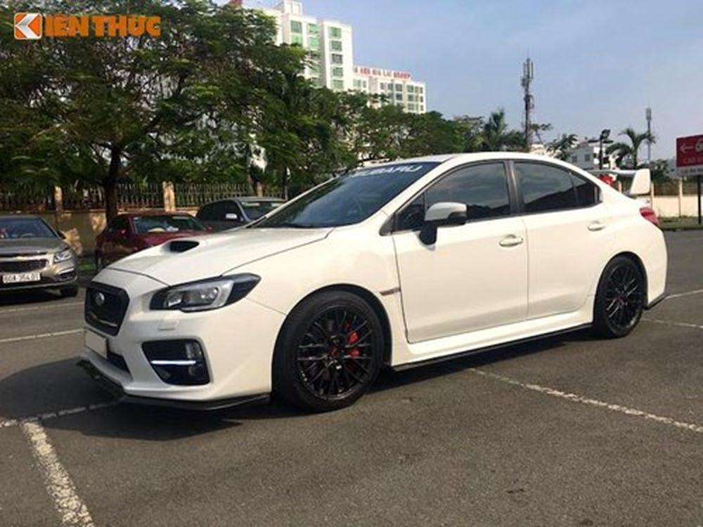 Sedan 'hàng độc' Subaru WRX STI giá 1,45 tỷ tại Sài Gòn