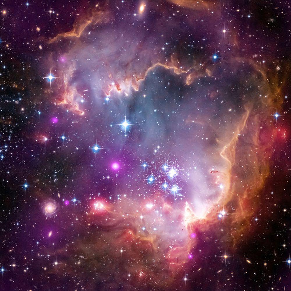 NGC 602 là một cụm mở nằm trong dám mây Magellan nhỏ (SMC), một trong những thiên hà gần nhất của Dải Ngân hà. Trên trái đất, bạn có thể nhìn thấy ...