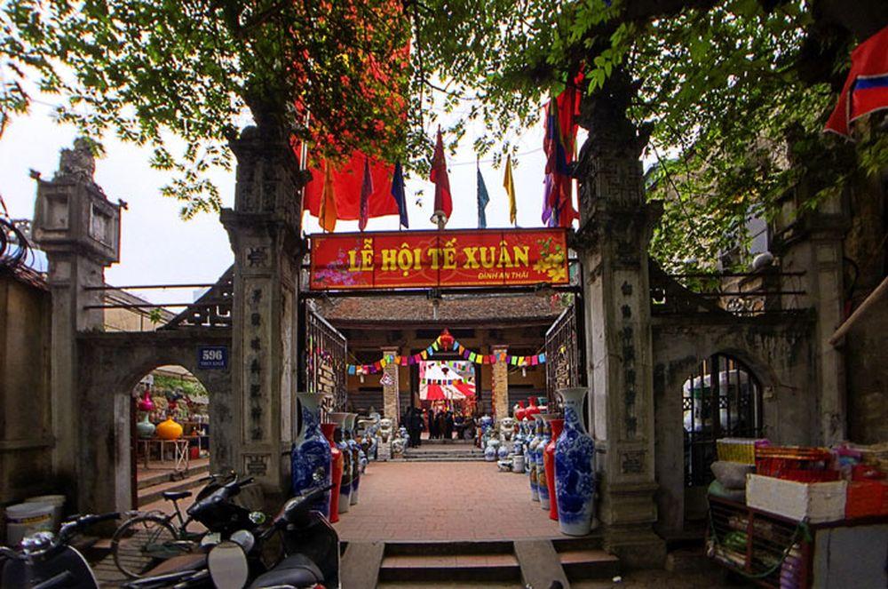 ... một số hình ảnh về lễ hội thường niên của đình làng Yên Thái, do các  NSNA An Khang - Bảo Thoa CLB Nhiếp ảnh người cao tuổi Hà Nội thực hiện.