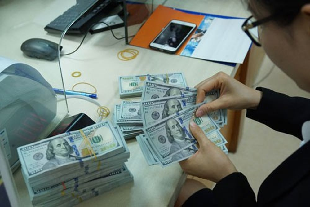 Tỉ giá USD/VNĐ đã tăng 0,84% kể từ đầu năm đến nayẢnh: Linh Anh