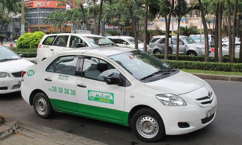 Kết quả hình ảnh cho taxi mai linh