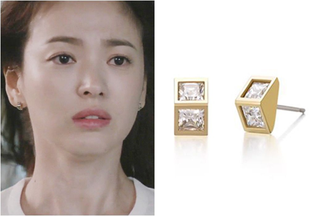 Descendants of the Sun J.ESTINA Tre Raggio Hélio Earring Kang Mo-Yeon earring