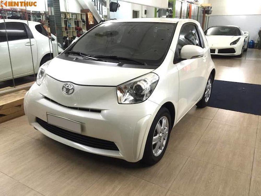 Kết quả hình ảnh cho Xe Toyota IQ