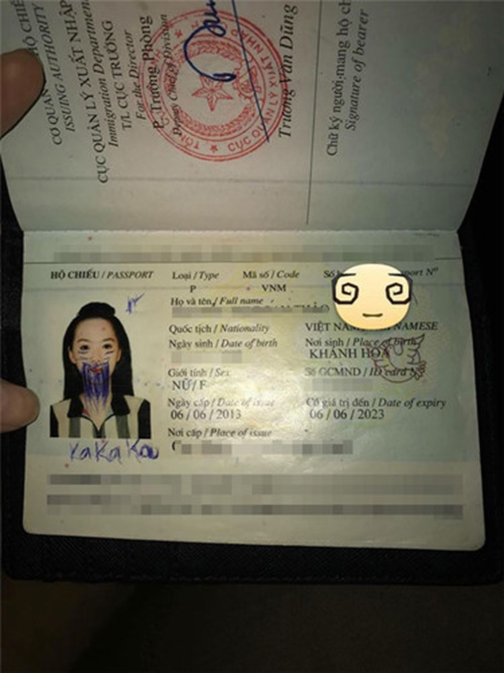 Sau khi chứng kiến những bức ảnh trên, nhiều dân mạng đã đặt ra câu hỏi, liệu với bức ảnh hộ chiếu \u201chài hước\u201d này, cô gái có thể về Việt Nam ...