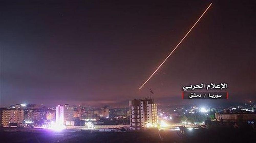 Phòng không Syria phá 'mục tiêu thù địch' gần Damascus - Báo VOV