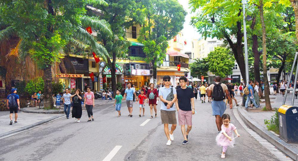 """Résultat de recherche d'images pour """"thu hút khách du lịch đến Hà Nội"""""""