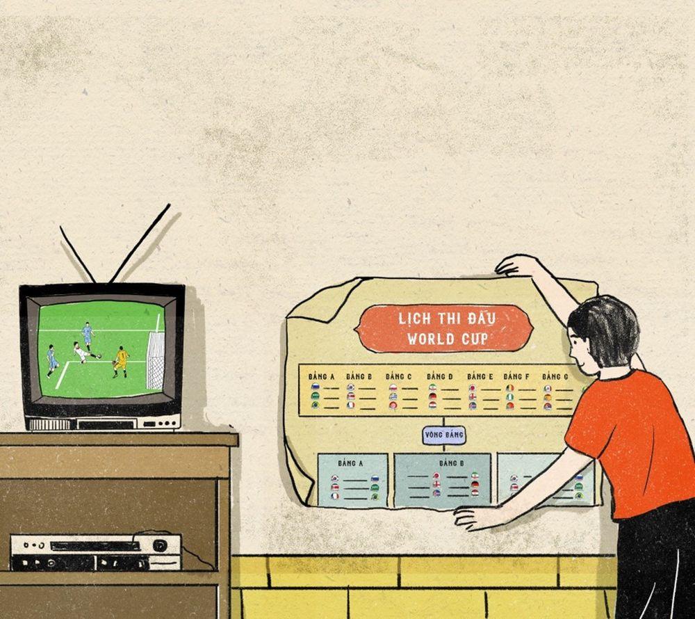 Những ngày cận kề World Cup, nhà nào cũng chuẩn bị sẵn cho mình tờ lịch thi  đấu dán ngay cạnh tivi để dễ theo dõi. Sau mỗi trận đấu, ...