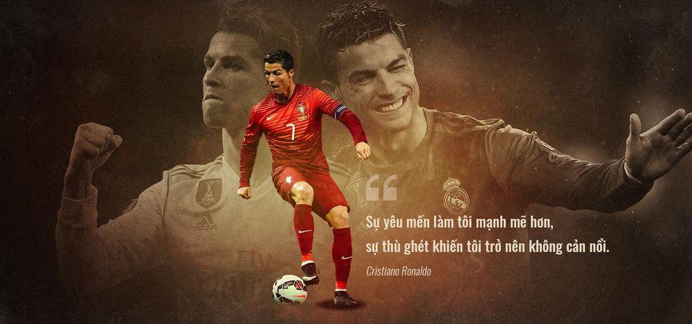 Kết quả hình ảnh cho Ronaldo biểu tượng của sự vươn lên mạnh mẽ