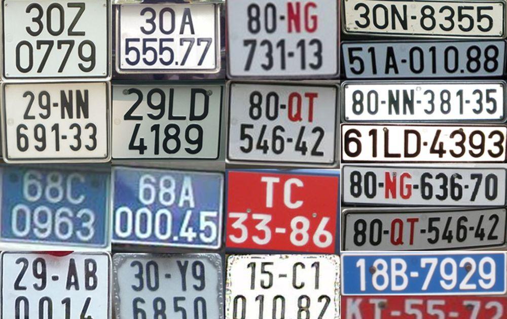 Biển số xe tại Việt NamCách dễ nhớ biển số xe các tỉnh thành