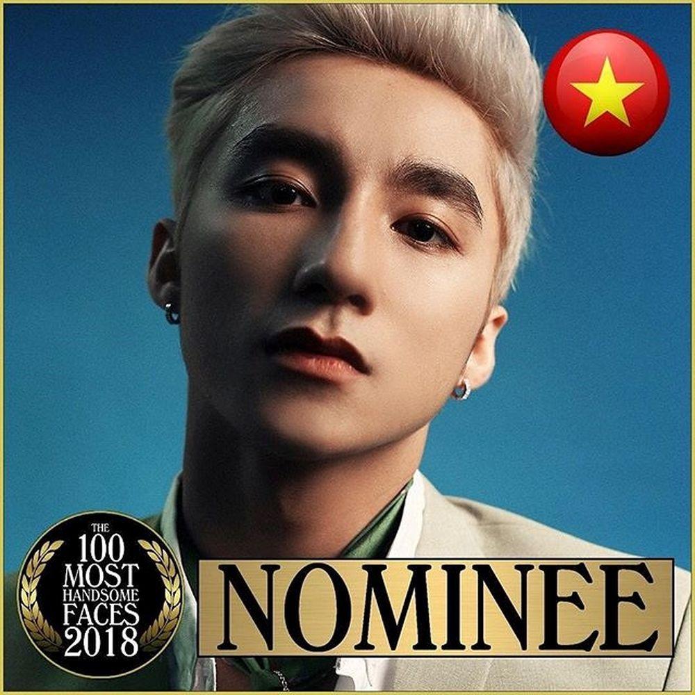 Sơn Tùng M-TP lọt vào đề cử Top 100 gương mặt đẹp nhất thế giới 2018