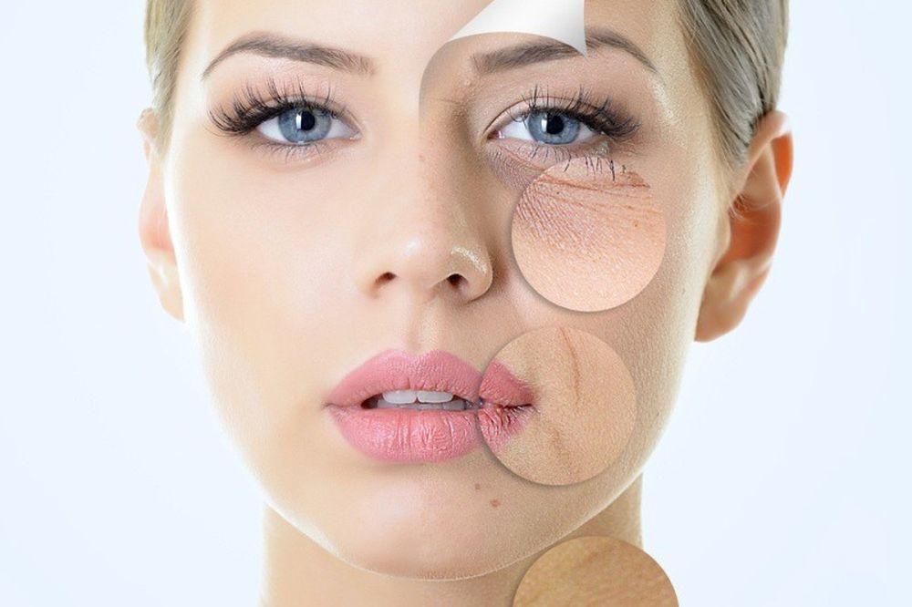 Image result for Các loại mỹ phẩm chống lão hóa da