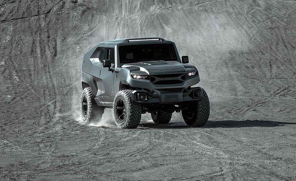 Chiếc xe có thiết kế kiểu dáng vuông vức và trọng lượng nặng nên được dự  đoán sẽ không thế nhanh bằng những mẫu xe thể thao khác.