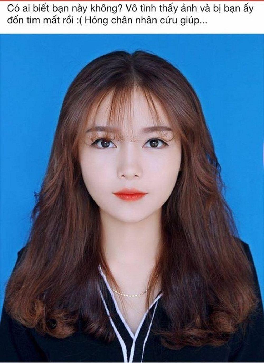 Tấm ảnh thẻ cực xinh như hotgirl của Thanh Nga