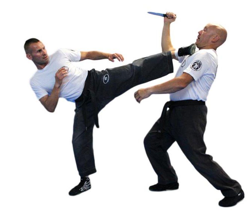 Krav maga tấn công vào những vị trí yếu điểm nhất trên cơ thể