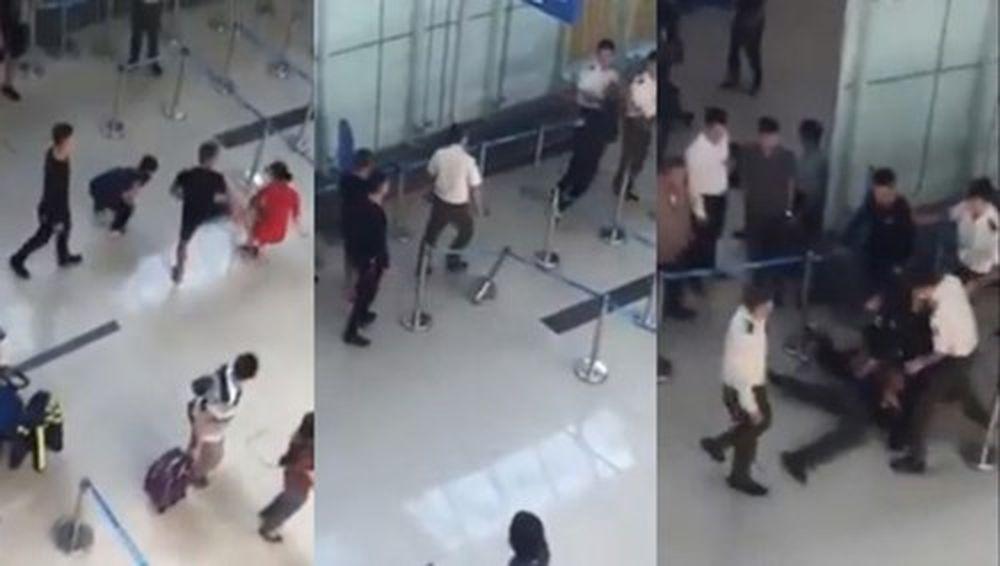 Video: Gây rối, hành hung nhân viên sân bay sẽ bị phạt nặng