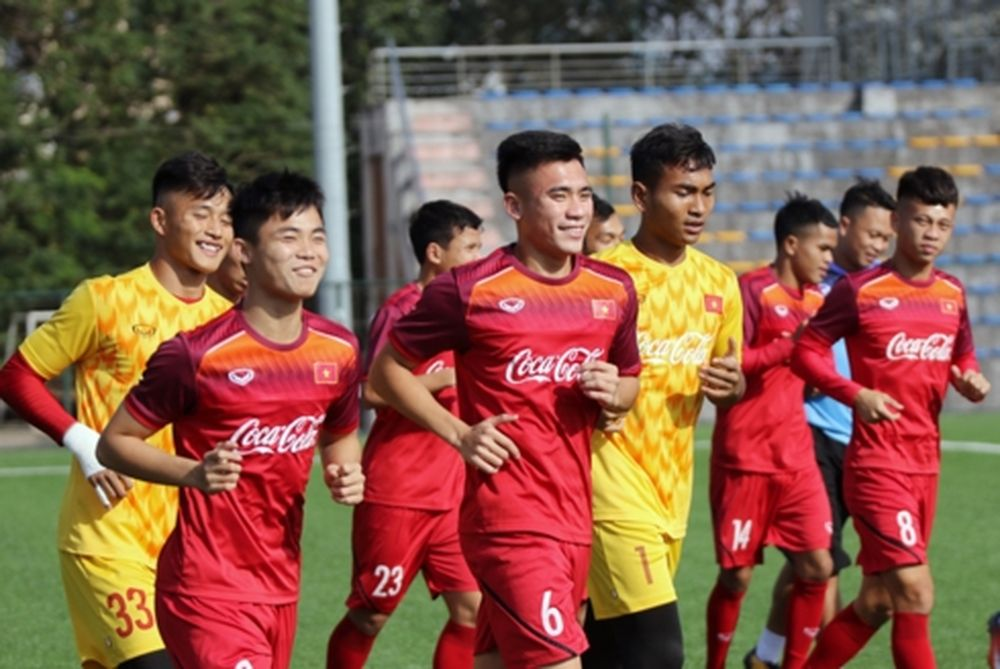 0cd73745ecadf U22 Việt Nam cầm hòa CLB Sài Gòn với tỷ số 1-1 trong trận giao hữu trước  thềm giải đấu U22 Đông Nam Á.