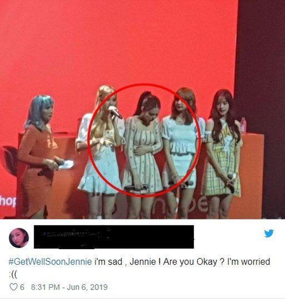 BLINK bày tỏ sự lo lắng tới sức khỏe của Jennie (BLACKPINK) - SaoStar