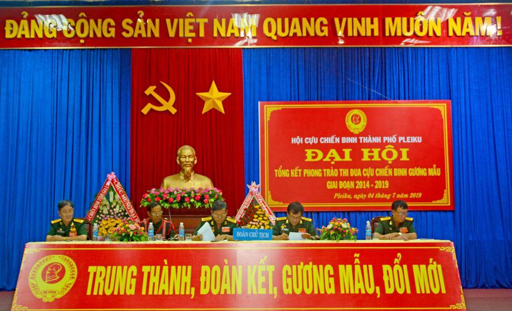 123 đại biểu dự Đại hội thi đua 'Cựu chiến binh gương mẫu