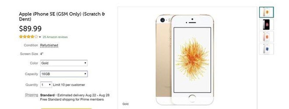 Chiếc iPhone rẻ nhất, nhỏ nhất vừa được 'hồi sinh' với giá