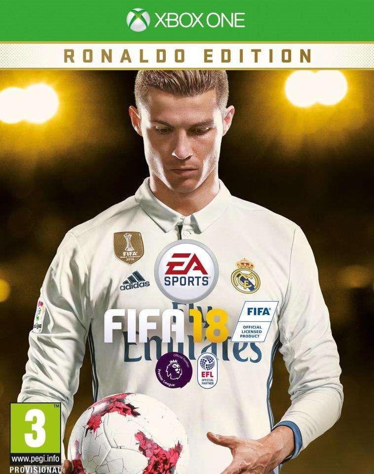 EA Sport vừa chính thức công bố ngày phát hành tựa game bóng đá đình đám FIFA 18 vào tháng 9 và khiến fan bất ngờ với hình ảnh của Cristiano Ronaldo ...