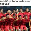 Đội tuyển Indonesia vừa công bố danh sách 23 cầu thủ dự AFF Cup 2018.