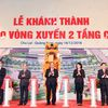 Chùm ảnh: Thủ tướng dự Lễ khành thành nút giao vòng xuyến 2 tầng Chu Lai