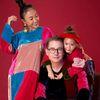 Đoan Trang rủ chồng Tây và 'công chúa lai' 5 tuổi diện áo dài nhung đón Tết